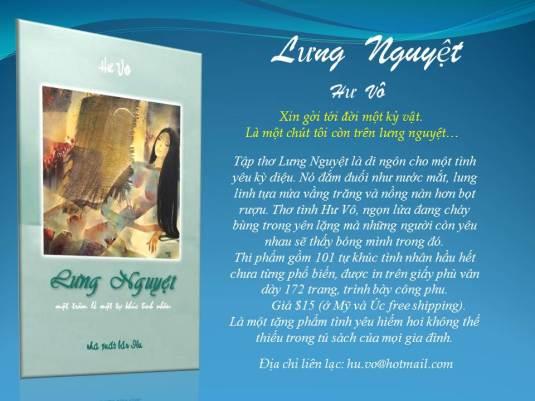 Tập thơ Lưng Nguyệt