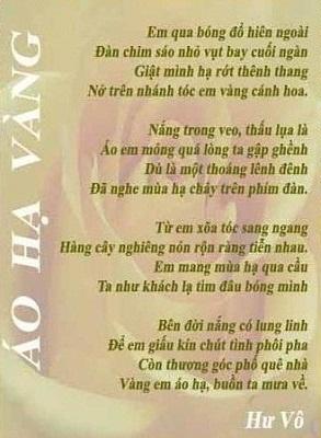 Ao Ha Vang
